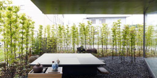 丸山海苔店ーつくば店 MNT06 (© by 白浜誠建築設計事務所)