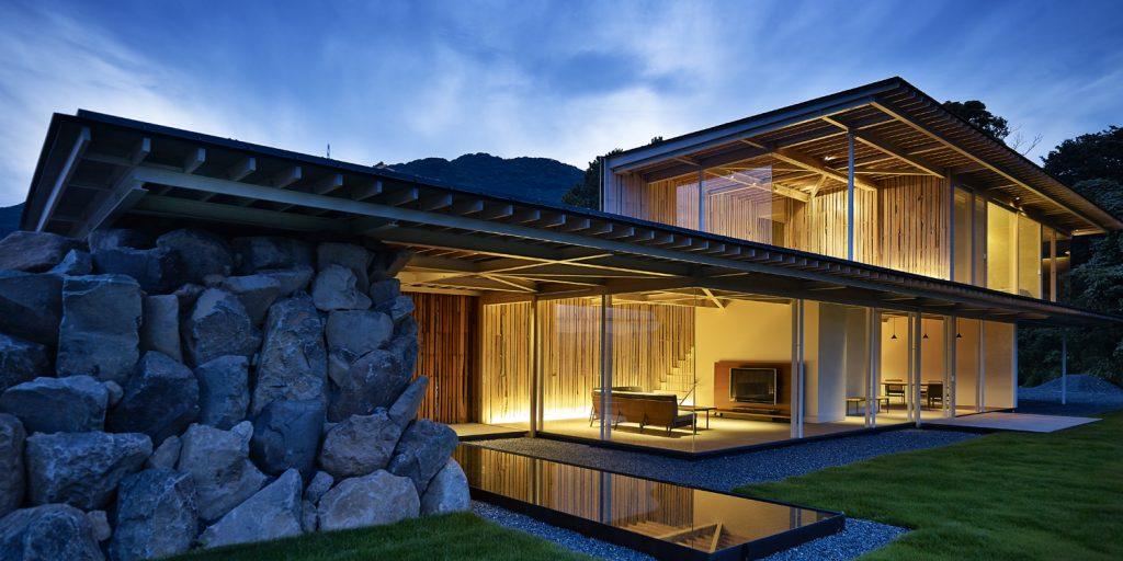 Rock House RH02 (© by 白浜誠建築設計事務所)
